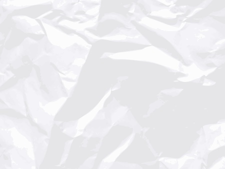 rumple: Blank white crumpled paper. Vector texture background.