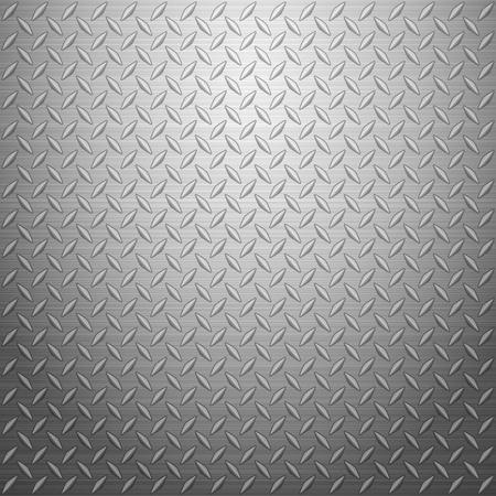on metal: Metal textura de fondo. Ilustraci�n del vector. Vectores