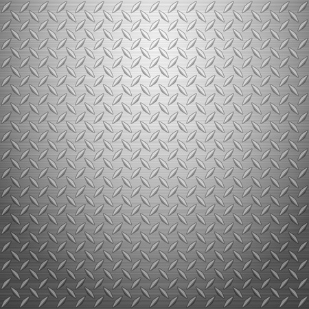 diamond plate: Metal texture background. Vector illustration.