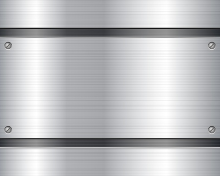 stainless steel: Metal texture background illustration