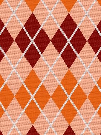 Seamless fabric pattern background  illustration Stock Vector - 12508334