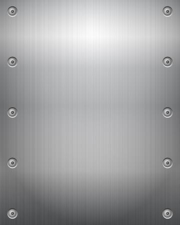 spartiti: Metal texture di sfondo illustrazione vettoriale Vettoriali