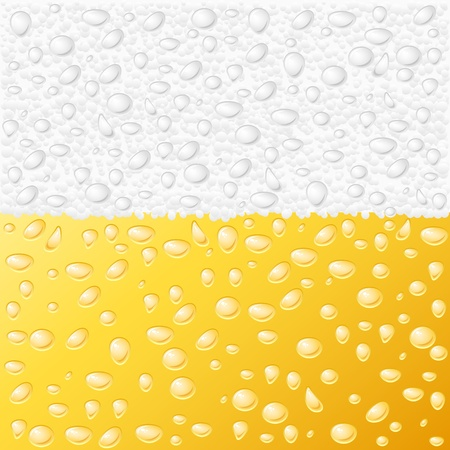 Dewy beer texture background  Vector illustration  Stock Vector - 14572114