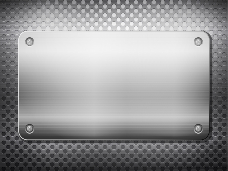 Pattern of metal texture background Stock Vector - 15481026