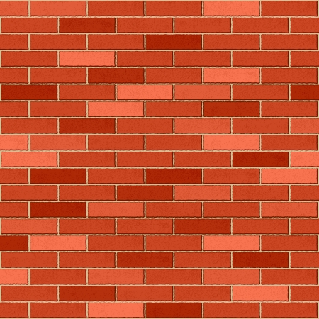 brick wall: Seamless brick wall texture background
