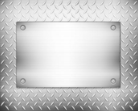 metaal: Patroon van metalen textuur achtergrond. illustratie.