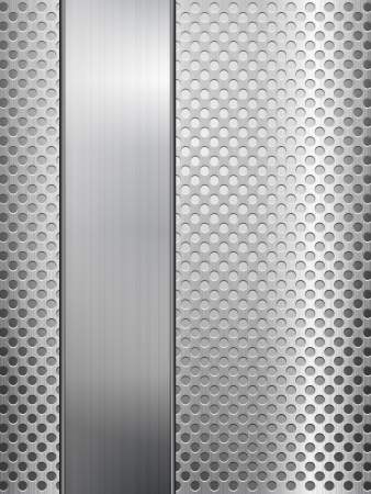 stainless steel: Pattern of metal texture background. Vector illustration.