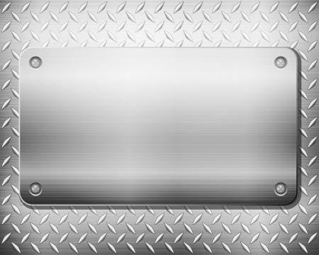 steel background: Pattern of metal texture background. Vector illustration.