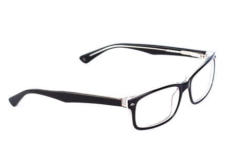 Reading glasses on a white background Stock Photo - 19656821
