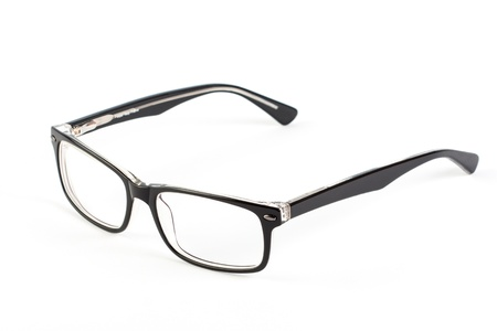 Reading glasses on a white background Stock Photo - 21056882