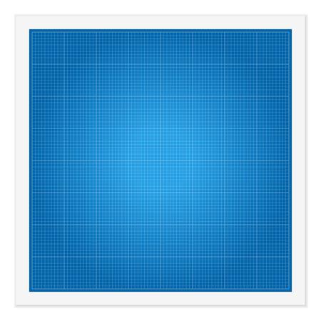 math paper: Blueprint paper on a white