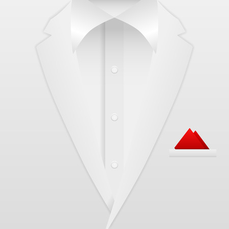 formal: Man formal suit background. Vector illustration.