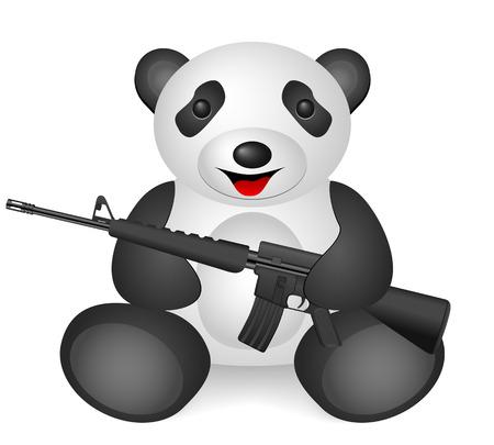 Panda M16 on a white background.