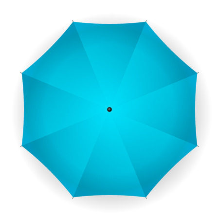 fall protection: umbrella on a white background. Vector illustration. Illustration