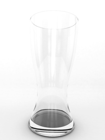pint: Pint glass on a white background.