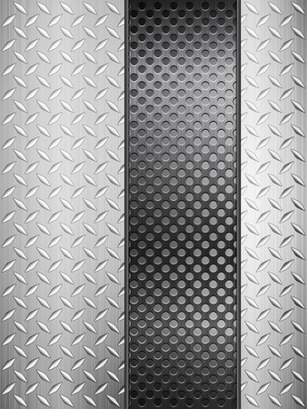 metal grid: Pattern of metal texture background. Vector illustration.