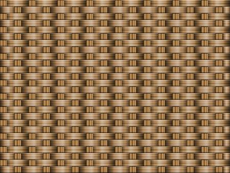 茶色の木造織物テクスチャ背景。