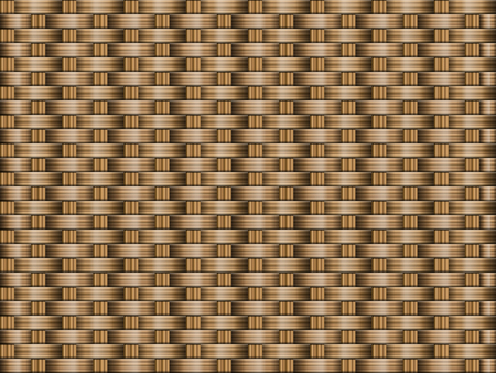Brown wooden woven texture background.
