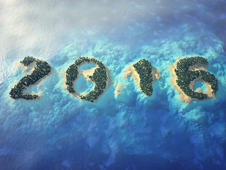 playas tropicales: 2016 texto formado por las islas tropicales.