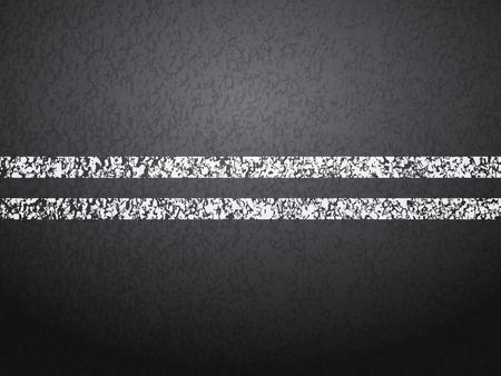 tar: Asphalt road with line background. Illustration