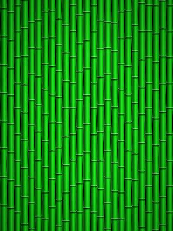 bamboo stick: Green bamboo stick pattern background. Illustration