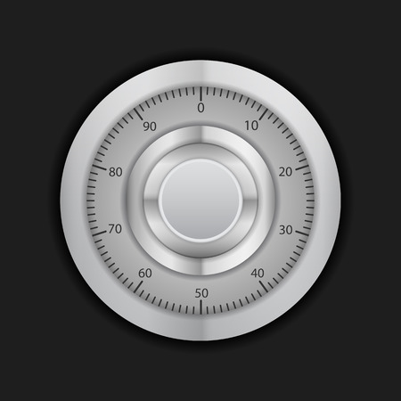 combination: Combination lock on a black background.