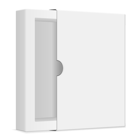 pasteboard: Blank paper box on a white background.