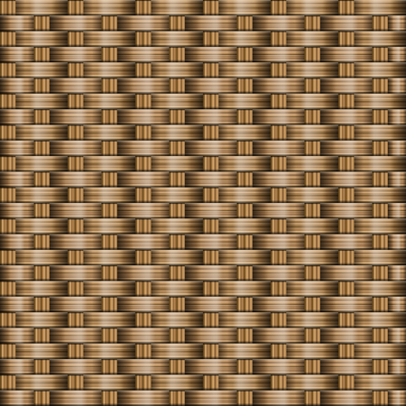 rattan: Brown wooden woven texture background.