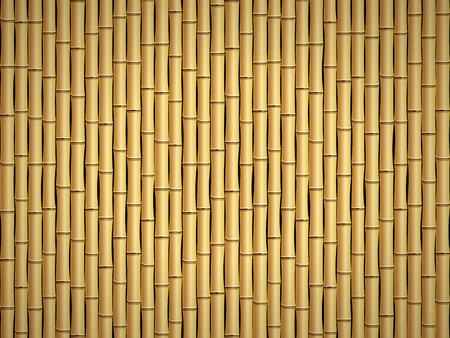 bamboo stick: Brown bamboo stick pattern background. Illustration