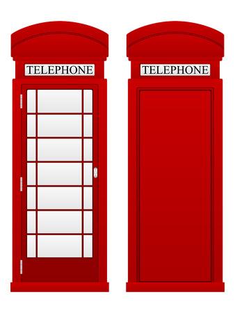 telephone: Telephone box on a white background.
