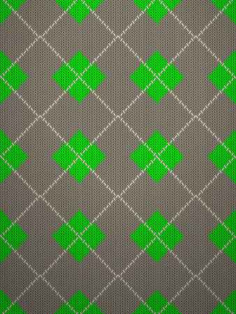 knitted: Seamless knitted pattern background texture. Vector illustration.