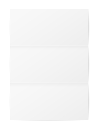 paper background: Folded paper on a white background. Vector illustration.