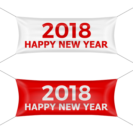 banner 2018 on a white background.