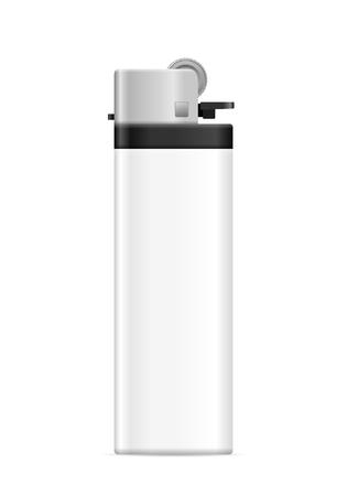 Lighter on a white background. Vector illustration. Illustration