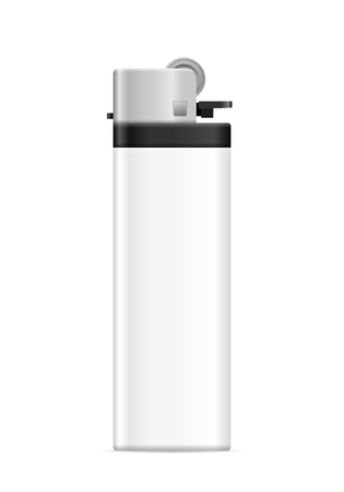 Lighter on a white background. Vector illustration. Vectores