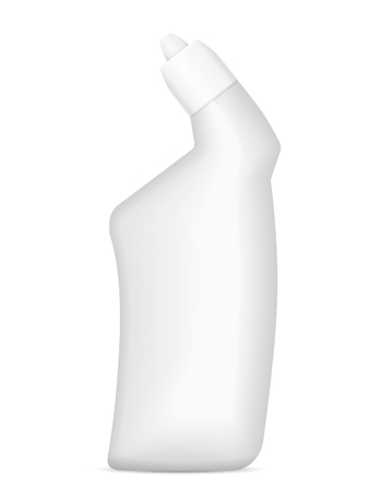 Detergent bottle on a white background. Vector illustration.