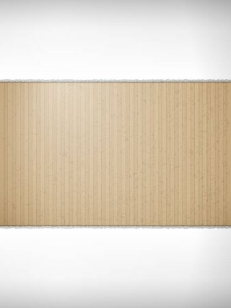 Torn cardboard paper texture for background. Vector illustration. Imagens - 129497541