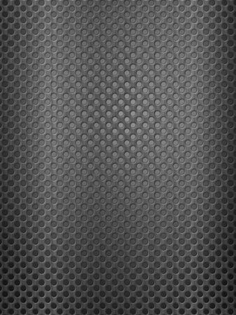 Background formed by metal grid sheet. Vector illustration.