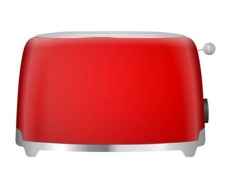 Toaster on a white background. Vector illustration. Vector Illustratie