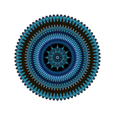 mandala: abstract mandala