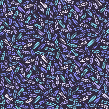 textile texture: Seamless pattern with colorful leafs.Colorful textile texture
