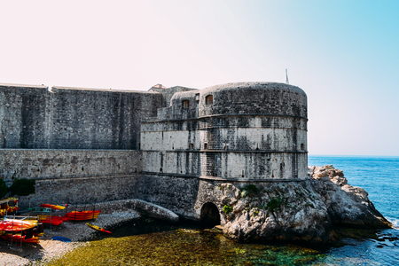 Old town in Dubrovnik Standard-Bild