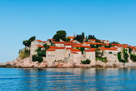 Saint Stephens Island, Montenegro July 2017