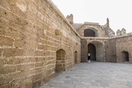 La Alcazaba monument located in Almeria (Spain). A fortress built by the Arabs to protect Christians Stock Photo - 18451271