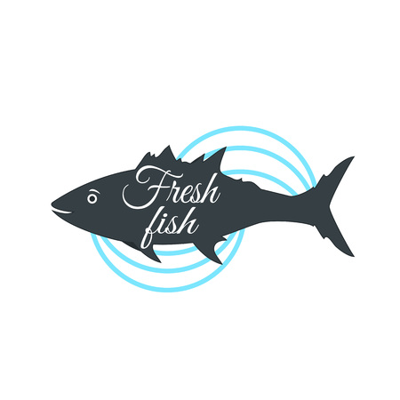 Fish illustration. Perfect for restaurants and restaurants with seafood. Fresh fish illustration Ilustrace