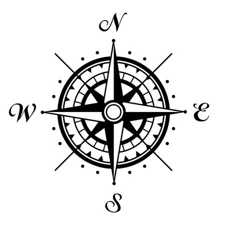 rose wind: Compass rosa de los vientos