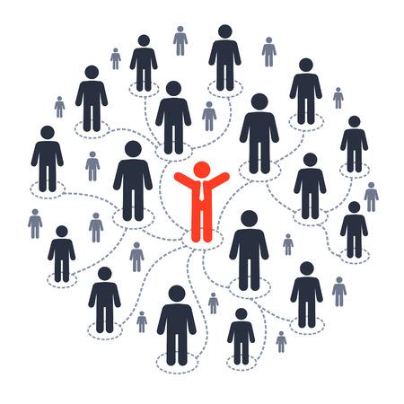 personnes: Médias sociaux marketing