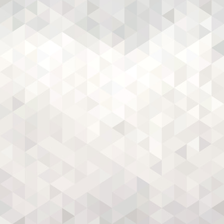 Abstract white geometric background