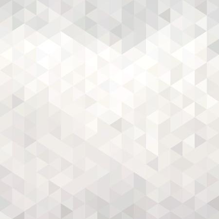 Abstrakt vita geometriska bakgrund Illustration