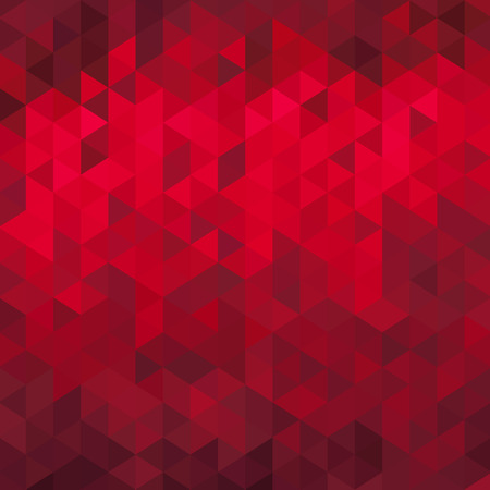 Abstract red geometric background - origami